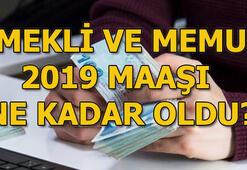 2019 emekli maaşı ne kadar oldu Emekli ve memur maaşları zam oranı...