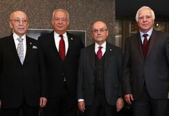 Şampiyon kulüplerin divan başkanları bir araya geldi
