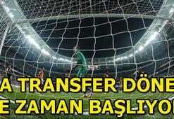Süper Lig ara transfer dönemi ne zaman başlıyor