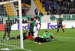 Akhisarspor - Sevilla: 2-3