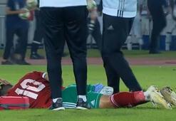 Galatasaraylı Belhanda sakatlandı