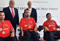 Petkim, Boccia Milli Takımına sponsor oldu