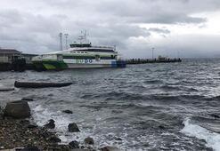 Son dakika... Marmarada deniz ulaşımında aksama