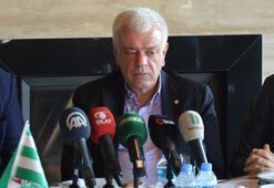 Bursaspor Başkanı Ali Ay: 100 milyon TLye ihtiyacımız var