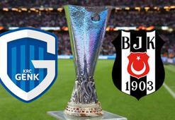 Beşiktaş maçı ne zaman hangi kanalda canlı yayınlanacak Genk BJK ilk 11ler açıklandı