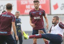 Trabzonsporda Erzurumspor maçı hazırlıkları sürüyor