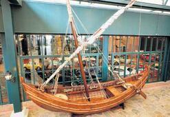 Yenikapı 12'nin replikası Koç Müzesi'nde