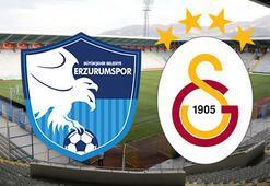 Erzurumspor Galatasaray maçı ne zaman saat kaçta hangi kanalda İlk 11ler...