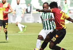 Atiker Konyaspor-Göztepe: 1-1