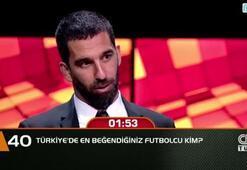 Türkiyede en beğendiğiniz futbolcu kim
