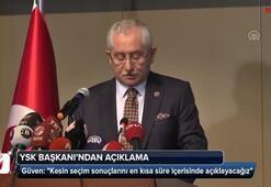 YSK Başkanı Sadi Güvenden seçim sonuçlarına ilişkin açıklama