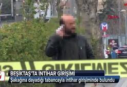 Beşiktaşta intihar girişimi