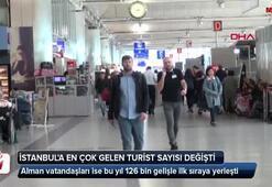 İstanbula en çok gelen turist sıralaması değişti