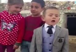 Sosyal medyayı sallayan 5 yaşındaki muhtar adayı