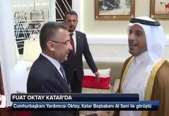 Cumhurbaşkanı Yardımcısı Oktaydan Katarda önemli görüşmeler