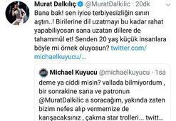 Murat Dalkılıç ile radyocu Michael Kuyucu arasında gerginlik