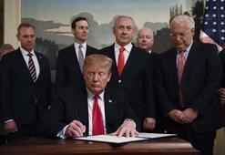 Türkiyeden ABDnin skandal Golan kararına tepki Açıklamalar peş peşe geldi...