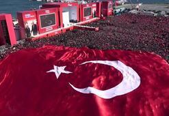 Son Dakika... Cumhurbaşkanı Erdoğandan Yenikapıda döviz resti