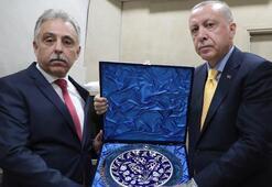 Cumhurbaşkanı Erdoğan Konya Valisi ile Belediye Başkanını kabul etti