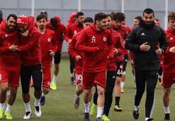 Sivassporda Ziya ve Muhammet takımdan ayrı çalıştı