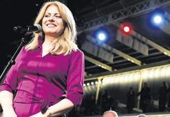 Slovakya'ya kadın cumhurbaşkanı