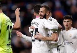 Real Madrid evinde zor kazandı