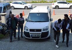 Bigada hırsızlık yapan iki şahıs yakalandı