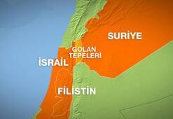 İsrail Suriyeye hava saldırısı düzenledi