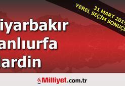 Diyarbakır Şanlıurfa Mardin seçim sonuçları | 2019 seçim sonuçları ve oy oranları