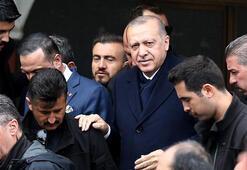 Cumhurbaşkanı Erdoğan, cuma namazı çıkışı sonrası açıklamalarda bulundu