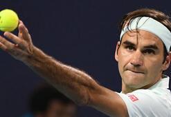 Federer Miami Açıkta finale kaldı