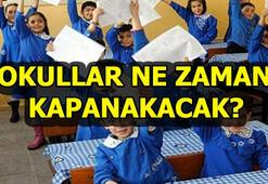 İkinci dönem ne zaman bitecek Okulların kapanma tarihi...