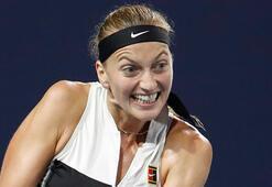 Kvitova çeyrek finalde veda etti