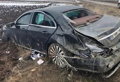 Belediye başkan adayı trafik kazasında yaralandı Kahreden haber geldi...