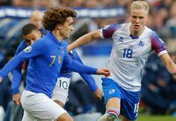 Fransa, İzlandayı parçaladı Gol yağmuru...