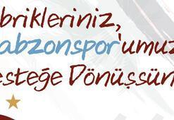 Zorluoğlundan Trabzonspora  destek