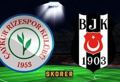 Çaykur Rizespor-Beşiktaş: 2-7 (İşte maçın özeti)