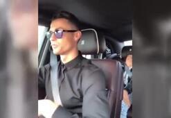 Cristiano Ronaldo şarkıya kayıtsız kalamadı