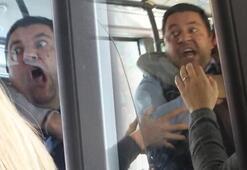 Belediye otobüsü şoföründen, kendisini uyaran yolcuya: Seni öldürürüm