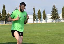 Akhisarsporda Mustafa Yumlu mutluluğu