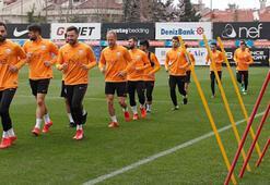 Galatasarayda Fenerbahçe derbisi hazırlıkları başladı