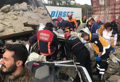 Sakaryada TEMde zincirleme kaza; İstanbul yönü ulaşıma kapandı