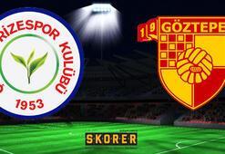 Çaykur Rizespor - Göztepe: 1-0