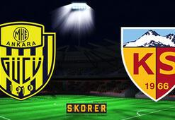 İM Kayserispor - MKE Ankaragücü: 0-2