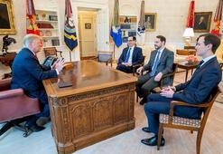Son dakika: Beyaz Saray'da tarihi görüşme Trump'a tüm mesajlar iletildi