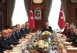 Cumhurbaşkanı Erdoğan, Türkiye-AB Karma İstişare Komitesi Türkiye kanadı üyelerini kabul etti