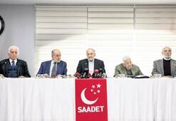 Saadet'ten yeni bina kampanyası