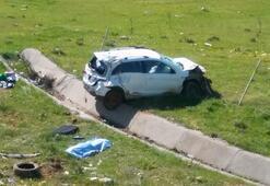 Kontrolden çıkan otomobil dehşet saçtı: 1 ölü, 3 yaralı