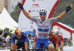 55. Cumhurbaşkanlığı Bisiklet Turu Çanakkale ile Edremit ayağını kim kazandı 18 Nisan kopya