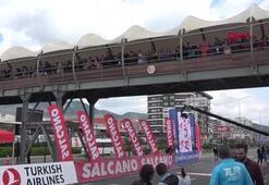 Cumhurbaşkanlığı Türkiye Bisiklet Turunun üçüncü etabı tamamlandı
